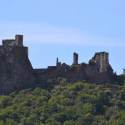 Rempart et château de Rochemaure
