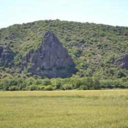 Les trois roches noires Rochemaure