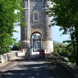 Pont de Rochemaure Sud-Nord